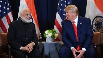 川普:印度未善待美國 但雙方將談成重大貿易協議  (圖:AFP)