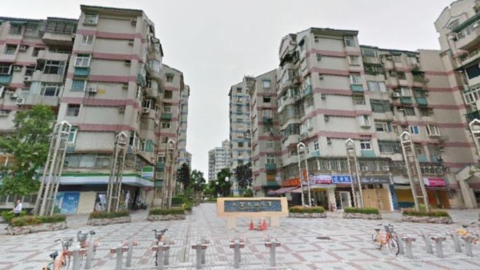 大直美堤花園連三年蟬聯北市熱門中古社區第一名。(圖/翻攝GoogleMap)