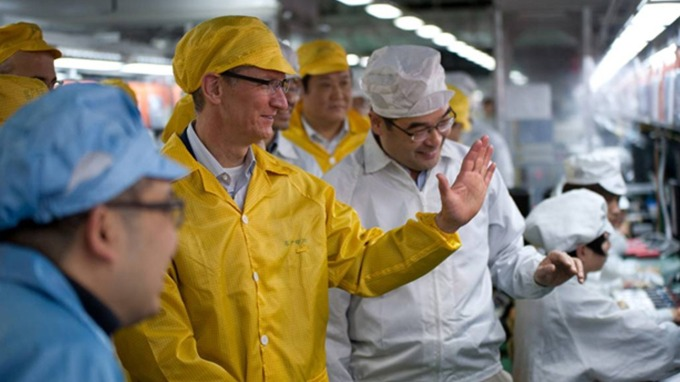 郭明錤: 立訊精密可望下半年組裝iPhone 可成最關鍵(圖片:AFP)