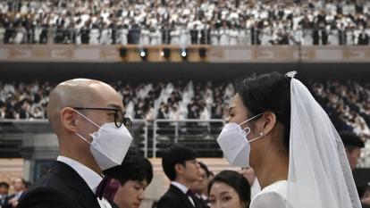 南韓教堂爆群聚感染 有37人與第31例確診有關 (示意圖) (圖片:AFP)