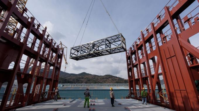 南韓智庫:南韓造船、半導體產業 恐受歐美日三方聯合聲明波及 (圖:AFP)