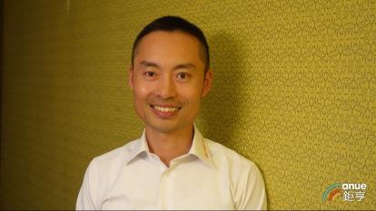 定穎電子董事長黃銘宏。(鉅亨網記者張欽發攝)