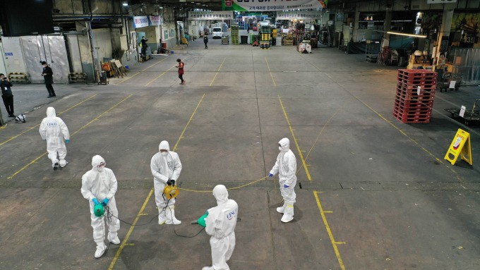 韓國大邱如死城!世衛警告:疫情隨時可能全球大爆發(圖片:AFP)