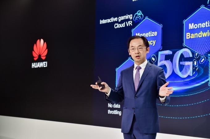 華為常務董事、運營商 BG 總裁丁耘宣布正式啟動 5G 合作夥伴創新計劃 (圖片:華為)