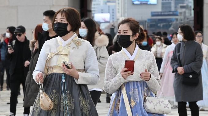 南韓大邱列「傳染病特別管理地區」 首爾禁止大型集會 (圖片:AFP)