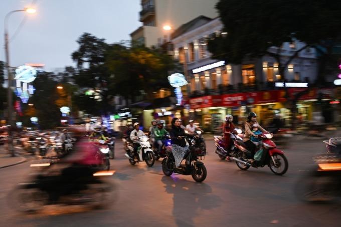 越南交通 (圖: AFP)