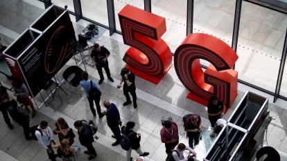 2020年全球5G智慧型手機銷量有望達1.99億支  (圖片:AFP)