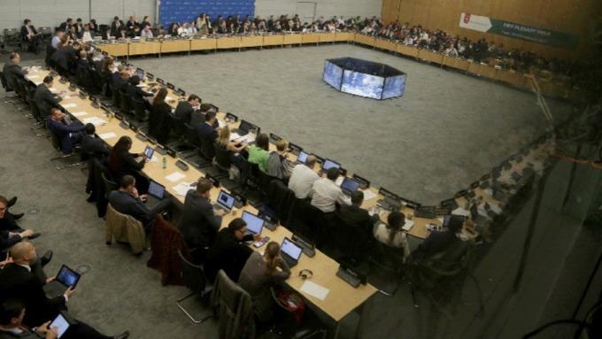 挺美!國際洗錢防制單位:伊朗列入黑名單。(圖片:AFP)