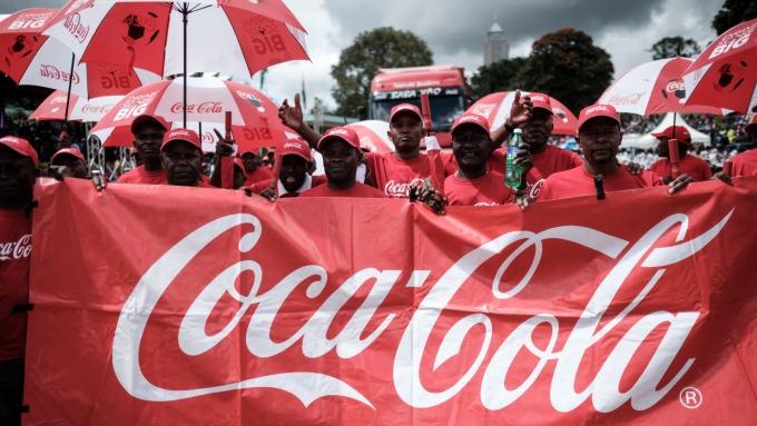 疫情擴大 可口可樂Q1財報敲警鐘(圖片:AFP)