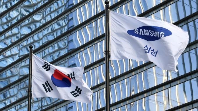 南韓疫情急升科技股三星、海力士、LGD賣壓沉  (圖片:AFP)