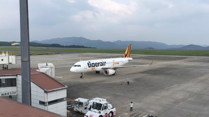 日韓航線受挫衝擊航空業Q1獲利。(圖:取自虎航臉書粉絲團)