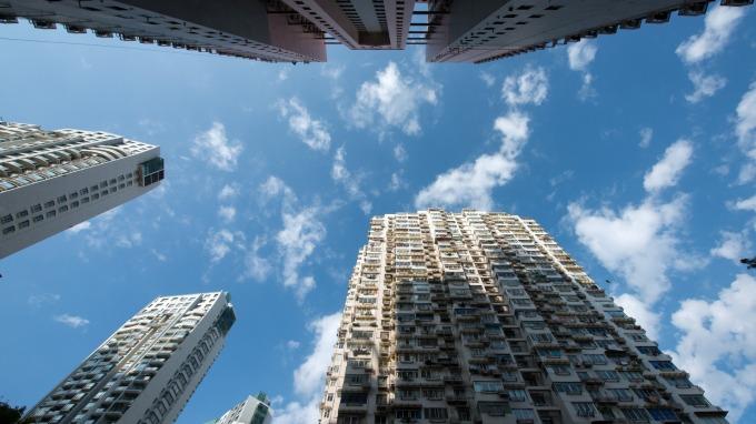 上海、廣州最近出現冬日罕見藍天,照片為示意圖。(圖:AFP)