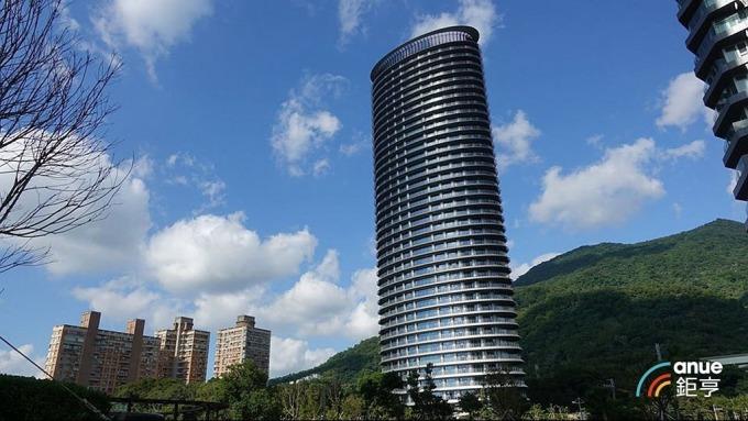 新北豪宅交易去年以淡水小坪頂「天境ellipse360°」三高奪冠。(鉅亨網記者張欽發攝)
