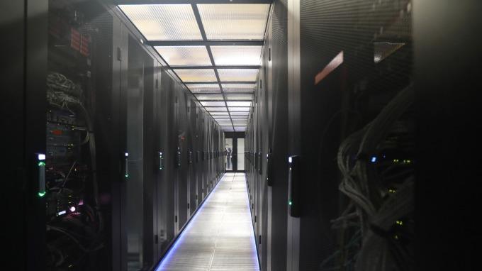 雲端伺服器商機發酵,台廠可望受惠。(圖:AFP)