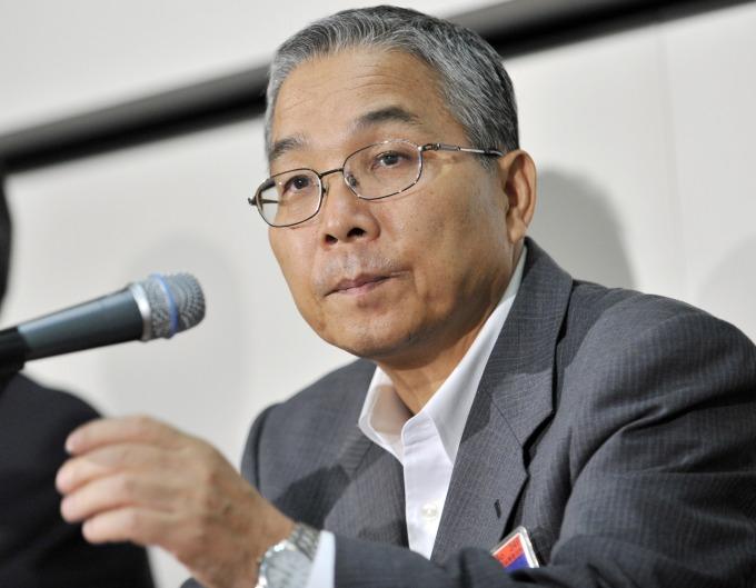 紫光高級副總裁坂本幸雄 (圖片:AFP)