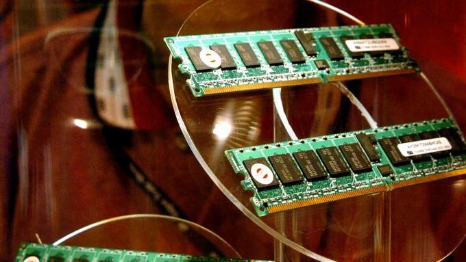 疫情削弱晶片銷售 美光慘遭BOA降評(圖片:AFP)