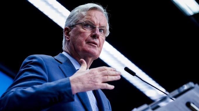 英歐首輪貿協下週開跑 歐盟先落狠話(圖片:AFP)