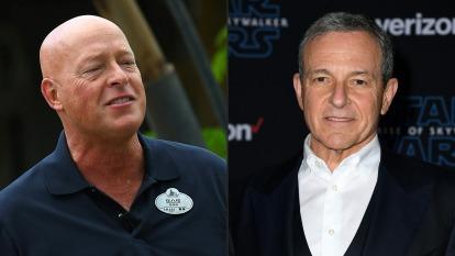 兩個Bob換手 迪士尼CEO Bob Iger下台 Bob Chapek接任(圖:AFP)