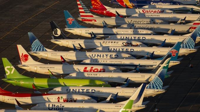 737MAX又見瑕疵 這次與飛機引擎有關 (圖片:AFP)