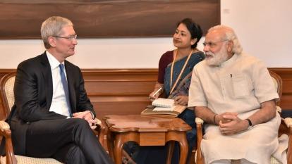 蘋果在印度高階手機市場大勝 預計還將擴大產能(圖:AFP)