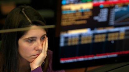 只要疫情擔憂持續 債券殖利率會一路向下(圖:AFP)