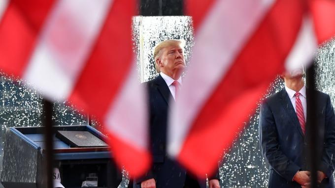 神準預言家:武漢肺炎阻礙川普連任之路。(圖片:AFP)