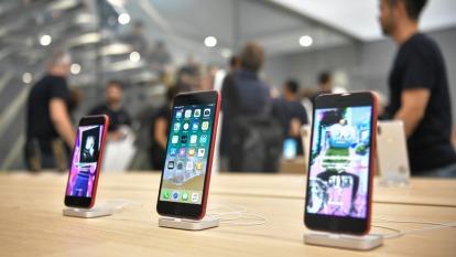 IDC:肺炎疫情影響 今年智慧型手機市場預期下跌2.3%  (圖片:AFP)