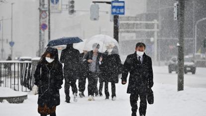 單日確診再增12例 北海道宣布進入緊急狀態 (圖:AFP)