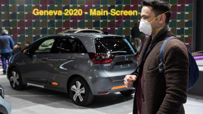 配合瑞士政府防疫政策 2020年日內瓦車展宣布取消 (圖:AFP)