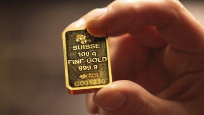 投資人藉拋售彌補部位損失 金價失守1600關卡 (圖:AFP)