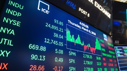 比金融危機慘! 美股跌近3500點 全球股市單週蒸發近6兆(圖片:AFP)