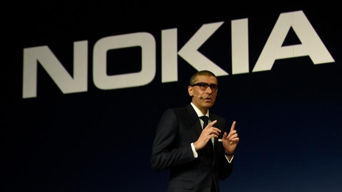 掌舵Nokia多年的執行長Rajeev Suri將下台。(圖:AFP)