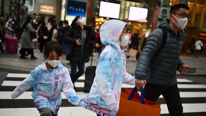 武漢肺炎重創日本百貨業 多家業者出現2位數衰退 (圖片:AFP)