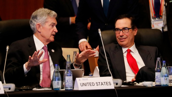 G7 緊急會議週二晚間登場 鮑爾/梅努欽共同主持。(圖片:AFP)