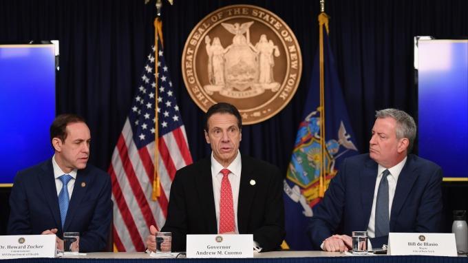 紐約州出現首起社區傳播案例 傳三所學校宣布停課 (圖:AFP)