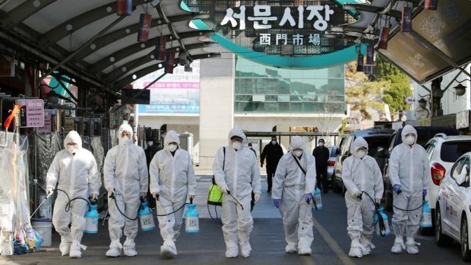 抗疫大作戰  南韓編列近3000億刺激經濟。(圖:AFP)