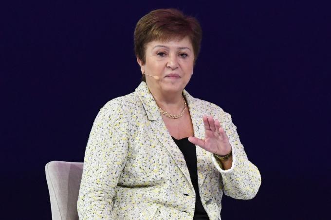 IMF 總裁喬治艾娃 (Kristalina Georgieva) (圖片:AFP)
