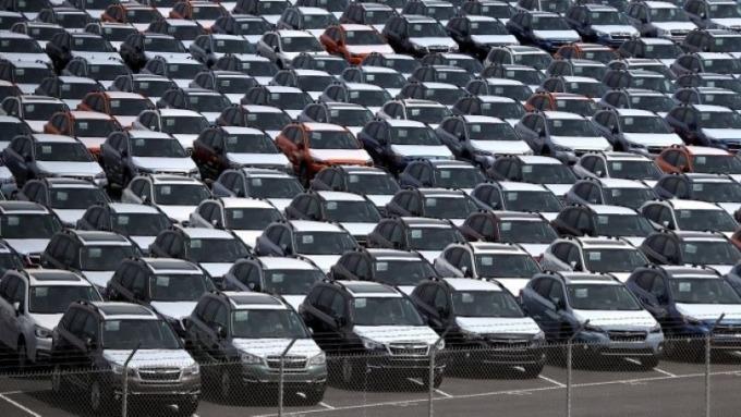 疫情重創購車需求 中國2月汽車銷售大跌80% (圖:AFP)
