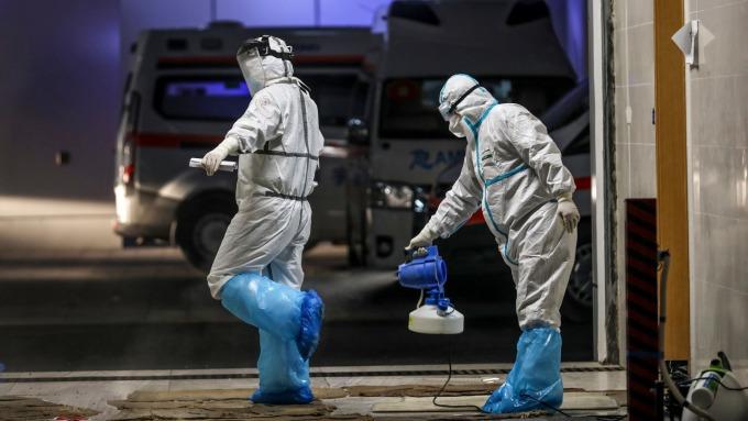 中國院士:武漢新增病例三月底有望降至零(圖片:AFP)