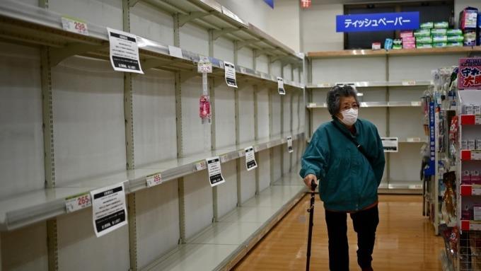 為何到處是衛生紙之亂?(圖:AFP)