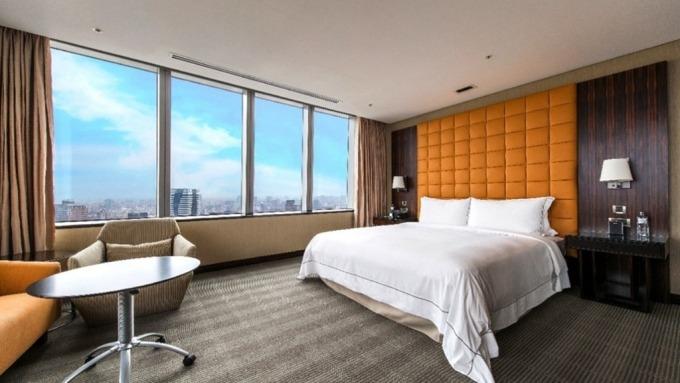 台中亞緻酒店客房。(圖:取自台中亞緻官網)