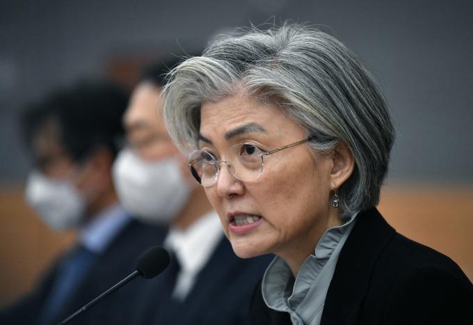 南韓外長康京和 (圖片:AFP)