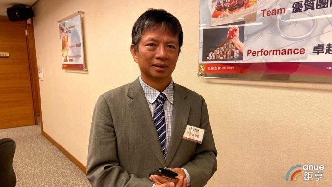 精英總經理楊龍光。