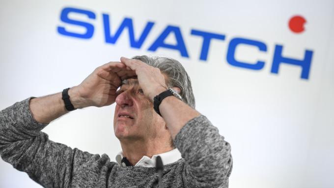 疫情使中國消費縮減 Swatch:公司業績遭受「巨大」打擊 (圖片:AFP)