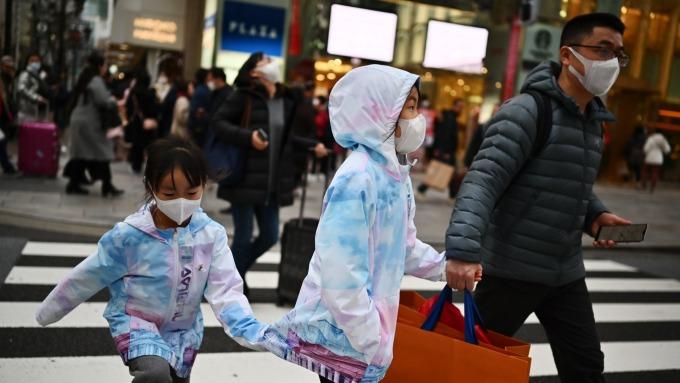 日本2月街頭景氣 出現311大地震以來最低水準 (圖片:AFP)