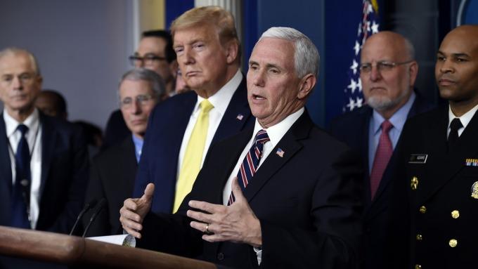 白宮記者會  (圖片:AFP)
