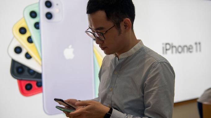 分析師警告:蘋果iPhone銷量大減 恐影響5G版發表(圖:AFP)