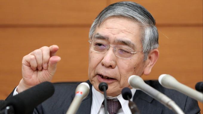 黑田東彥:ETF可能出現帳面虧損 面對肺炎疫情將採取必要手段 (圖片:AFP)
