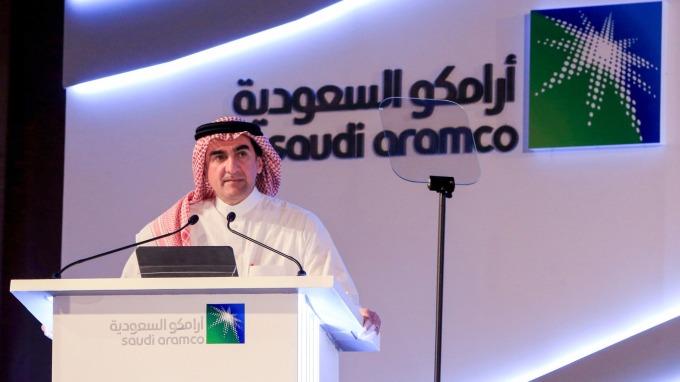 石油戰升級!沙烏地阿美宣布下月起每日增產1230萬桶  (圖:AFP)