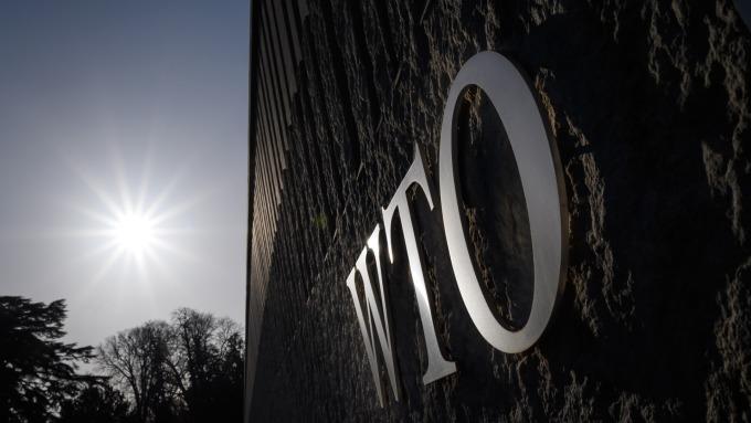 WTO證實1員工染疫 所有會議暫停至3/20後(圖片:AFP)